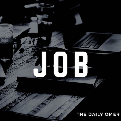 The Daily Omer. Bible Commentary. Job. Omer Dylan Redden
